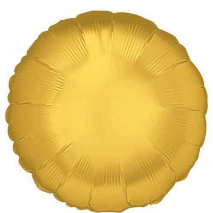 "18"" GOLD ROUND FOIL-0"
