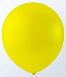 "12"" CANARY YELLOW LATEX BALLOONS-0"