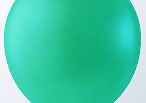 "12"" JADE GREEN LATEX BALLOONS-0"