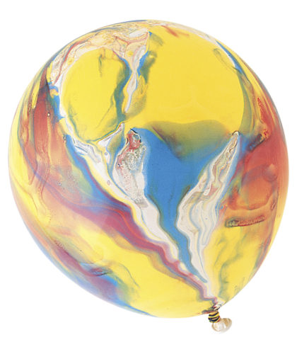 "12"" MARBLE LATEX BALLOONS-0"