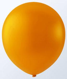 """12"""" Sunburst Orange Latex-0"""