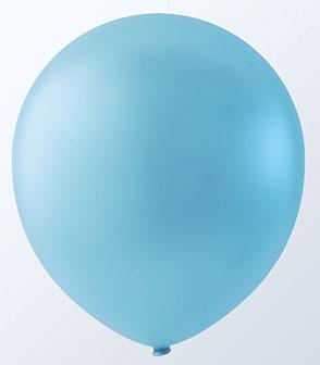 "12"" SKY BLUE LATEX BALLOONS-0"