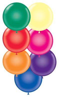 "24"" Round Balloons"
