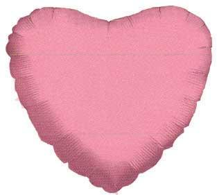 "18"" PINK HEART FOIL-0"