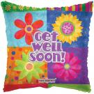 "18"" GET WELL FLORAL BLOCKS-0"