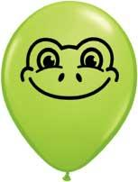 "5"" Frog Face Balloons-0"