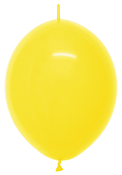 "12"" Fashion Yellow Link o Loon-0"