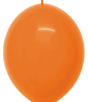 "12"" Fashion Orange Link o Loon-0"