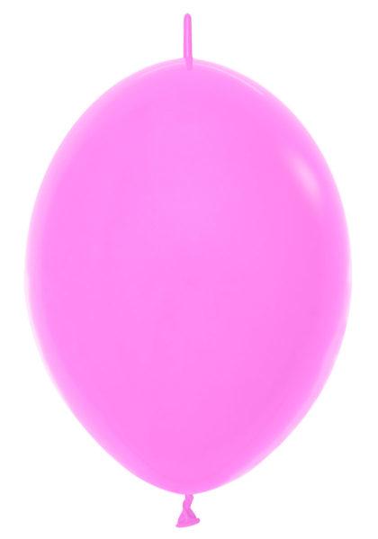 """6"""" Fashion Bubblegum Pink Link o Loon-0"""
