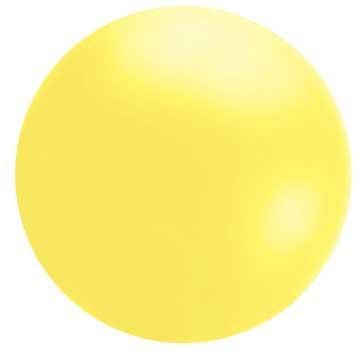 5 1/2' YELLOW CHLOROPRENE BALLOON-0