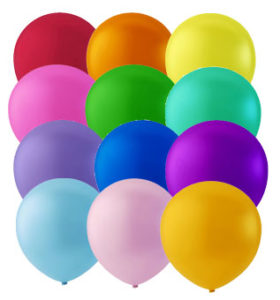 "12"" ASSORTED LATEX BALLOONS-0"