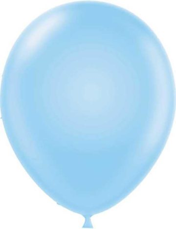 "17"" BABY BLUE LATEX BALLOONS-0"