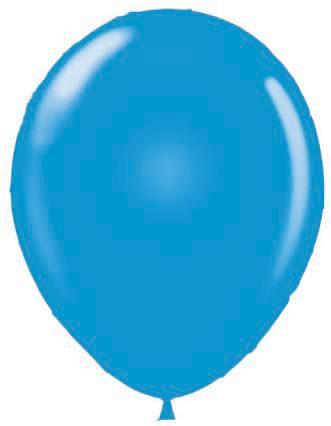 "17"" BLUE LATEX BALLOONS-0"