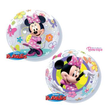 """22"""" Minnie Mouse Bow-tique Bubble-0"""