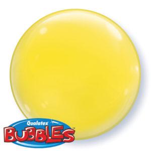 "15"" Yellow Bubbles-0"