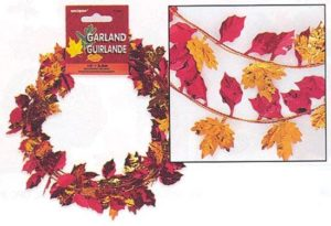 FALL LEAVES GARLAND-0