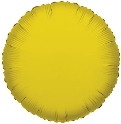 "18"" YELLOW ROUND FOIL -0"