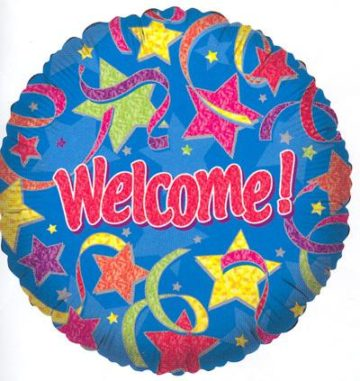 "18"" WELCOME STARS FOIL -0"