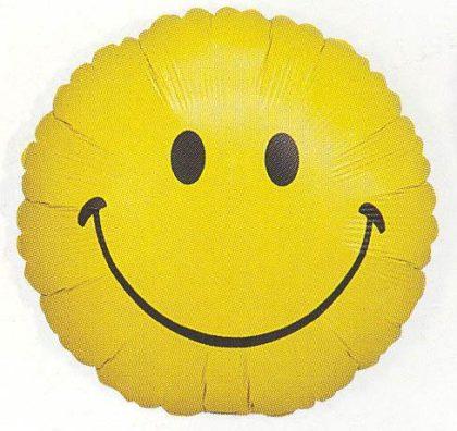 """18"""" SMILEY FACE FOIL-0"""