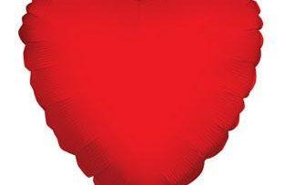 "18"" RED HEART FOIL-0"