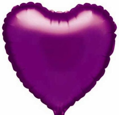"18"" PURPLE HEART FOIL -0"