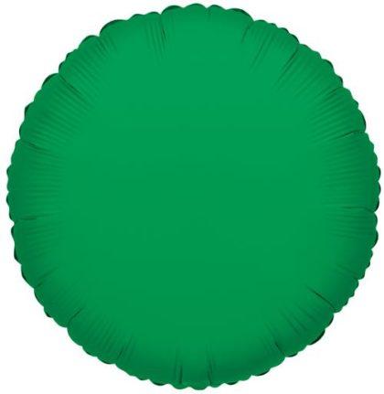 "18"" GREEN ROUND FOIL-0"