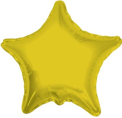 "18"" GOLD STAR FOIL BALLOON-0"