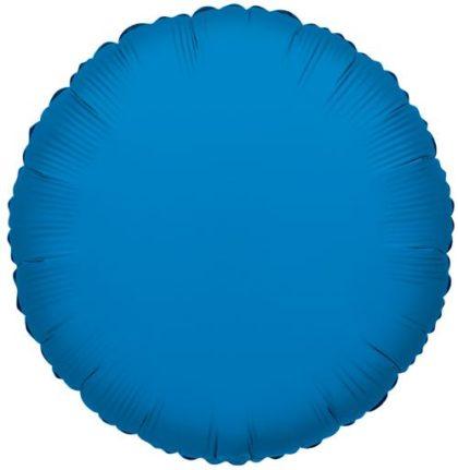 """18"""" BLUE ROUND FOIL-0"""