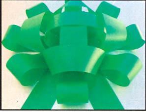 JUMBOW CAR BOW GREEN-0