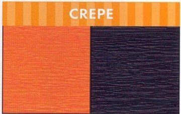 CREPE STREAMER BLACK-0