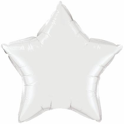 """9"""" White Star-0"""