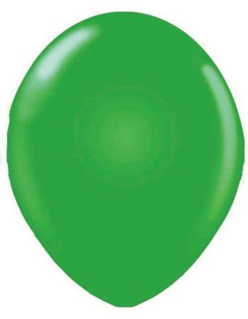 "17"" GREEN LATEX BALLOONS-0"