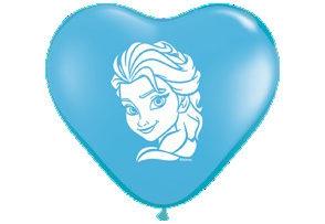 "6 "" Frozen Elsa Heart-0"