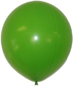 "24"" Lime Green Latex Balloons-0"