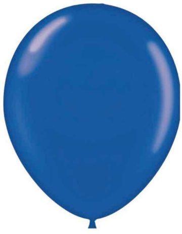 "17"" SAPPHIRE BLUE LATEX BALLOONS-0"