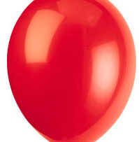 "36"" Scarlet Red Latex Balloon-0"