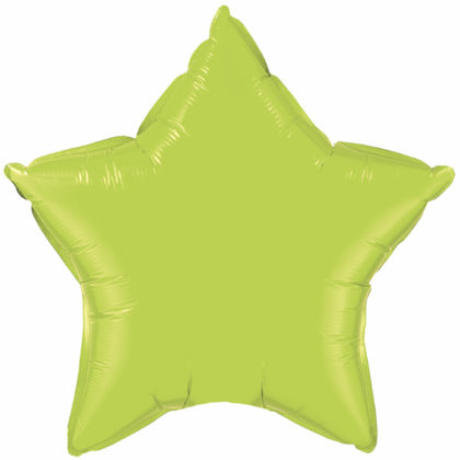 "9"" Lime Green Star-0"