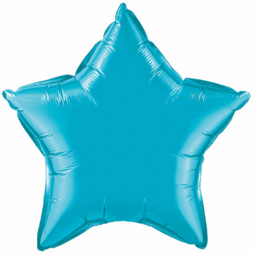 "4"" Turquoise Star-0"