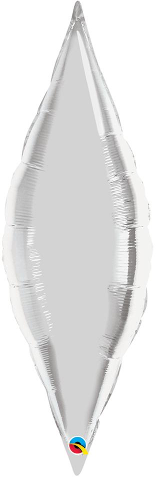 """27"""" Silver Taper-0"""