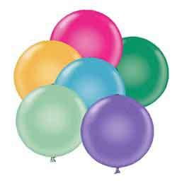 11 Tropical Assortment Latex Balloons-0