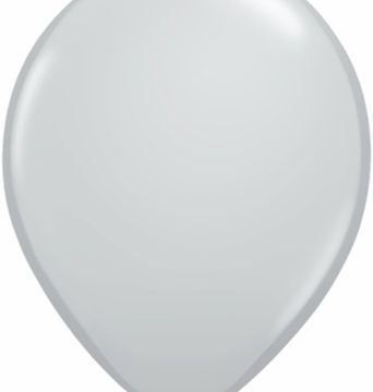 "11"" Gray Qualatex Latex -0"