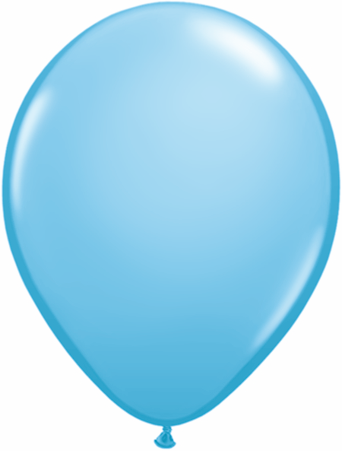 "11"" Pale Blue Qualatex Balloons-0"