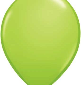"11"" Lime Green Qualatex Latex -0"