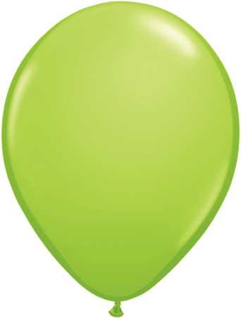 "11"" Lime Green Qualatex Latex -0"