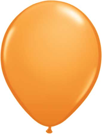 "11"" Orange Qualatex Latex -0"