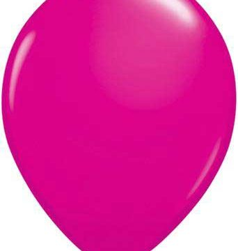 "11"" Wildberry Qualatex Latex -0"