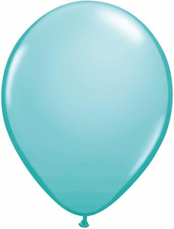 "11"" Caribbean Blue Qualatex Latex -0"