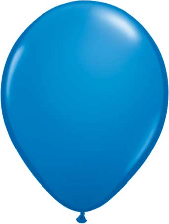 "11"" Dark Blue Qualatex Balloons-0"