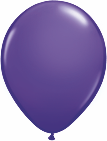 "11"" Purple Violet Qualatex Latex Balloons-0"