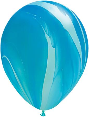 """11"""" Rainbow Blue Super Agate-0"""